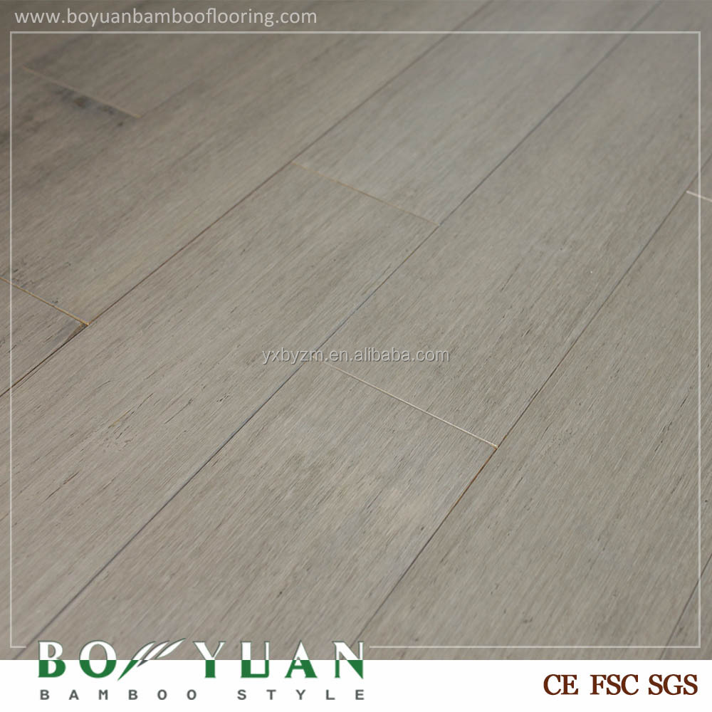 Yixing strand woven bamboo and cork flooring