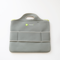 Competive colorful ultra thin laptop bag