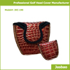 OEM Custom made Genuine Leather Designed Golf Head Cover