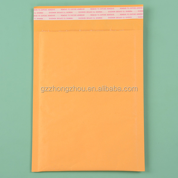 Hot selling kraft paper air bubble courier mailer bag