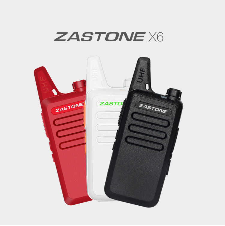 ZT-X6 UHF 400-470 MHz walkie talkie best range