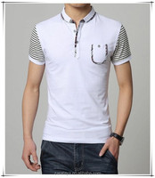 china wholesale man t-shirt garments stocklot tirupur OEM factory price polo shirt