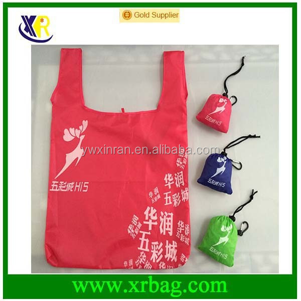 fashion new nylon foldable shopping bag