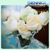 Fresh cut flowers high quality wedding ceremony white Roses