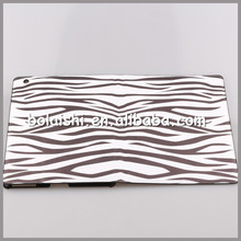 Wholesale Zebra-Gran Stand Leather Case For iPad 2/3/4 Ligther Case