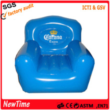 Popular PVC adults single seat air inflatable sofa chair.