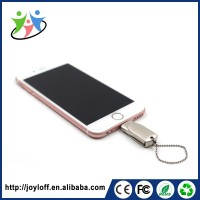 China Manufacturer Dual Port Otg Smart Phone Unique Metal Usb Flash Drive