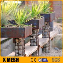 Beautiful 50x50mm opening welded gabion with dimention 100x30x30cm