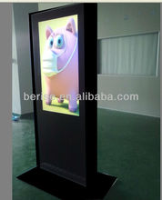 46inch industrial grade lcd display advertising monitor,touch screen is optional,waterproof outer casing.