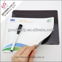 Made in China mini size fancy erasable magnetic white board