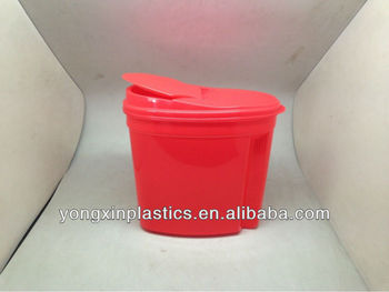 plastic pet food container for family pets