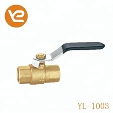 Forged Brass Ball Valve With Stainless Steel Ball Dn20