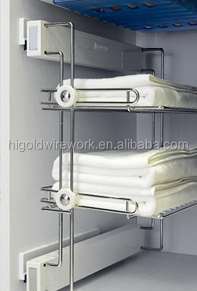 Alibaba top quality fashionable with soft-stop shoe rack