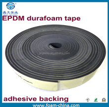 Weatherproof Tape Foam EPDM Durafoam Adhesive Backing Trunk Roof Outdoor Seal