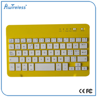 Hot mini wireless aluminum+ABS keyboard bluetooth 4.0 for smart tv, touchpad, mobile phone, cell phone
