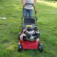 CE approved 190CC BS675 engine mini gasoline lawn mower/used lawn mower engines