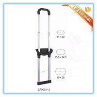 Metal Leisure Luggage Telescopic Handle Parts