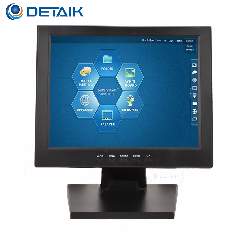 Cheap12 inch Industrial Touchscreen Display Monitor For POS
