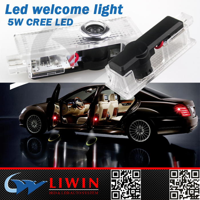 LW 50% off hot selling 12v 5w new lw version car badge logos for liwin casr bmw accessory