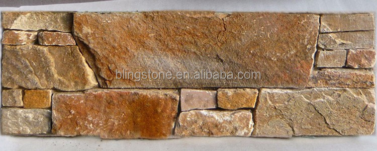 Natural Exterior Stone Wall Decoration Covering
