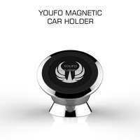 Car mount Flexible Magnetic 360 degree ratation cell phone holder OEM/ODM