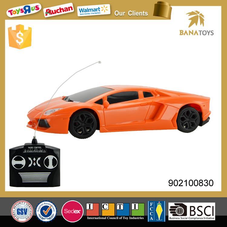 4 channels radio-controlled toy model car