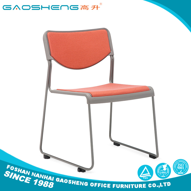 Brand new Portable stackable conference training chair with CE certificate
