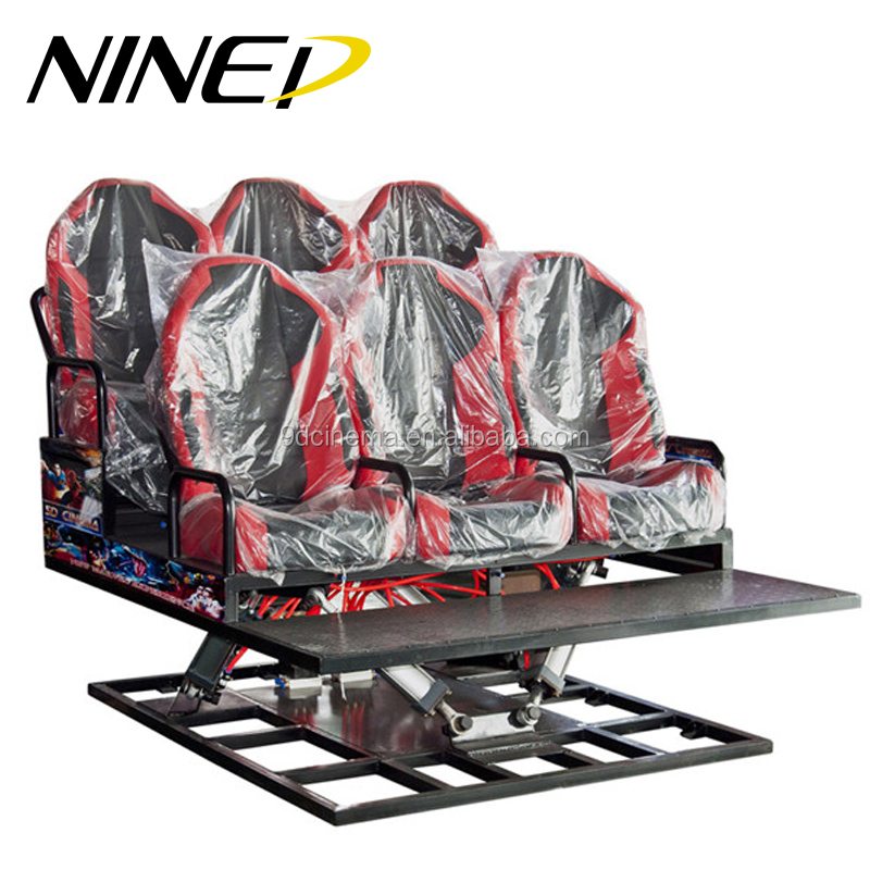 High Return 5d Amusement Park Equipment 5d Movie Systems