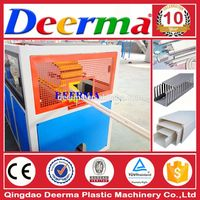 Plastic PVC Electrical Cable Trunking Making Machine with price