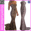 OEM Service Gowns Prom Leopard Fabric Formal Dress