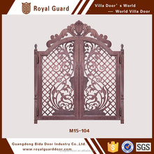 M15-104 Luxuly sliding gate designs for villas with good price and high quality