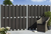 wood plastic composite fencing wpc fencing