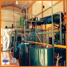 Industry Vacuum Used Motor Oil Distillation,motor oil regeneration to base oil Plant