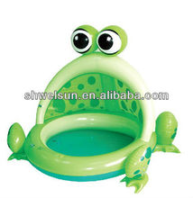 Inflatable Frog Spray Pool