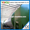 high drying efficiency single layer drum dryer for fertilizers