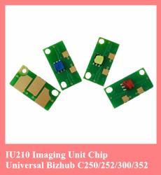 Compatible Konica Minolta Bizhub C224 C284 C364 DV512 developer unit chip