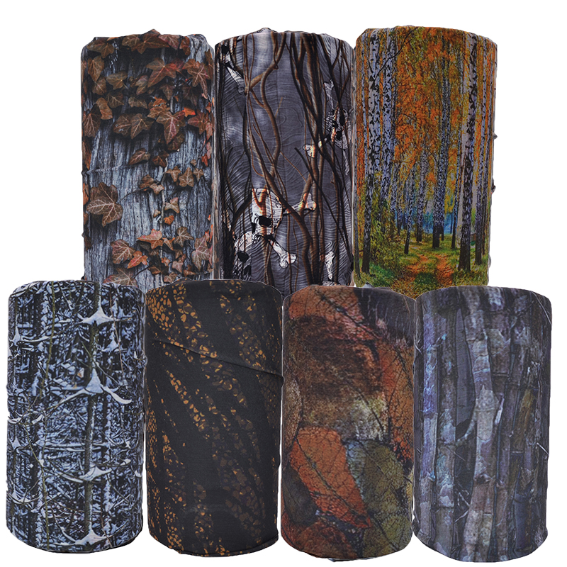 Wholesale Price Fashion Paisley forest Design Neck Multi Tube Bandana