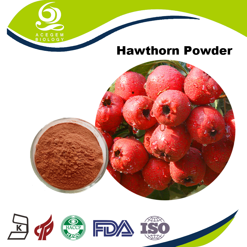 Dried herb hawthorn fruit powder healthcare food supplements