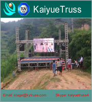 High quality used stage truss steel truss portable stage truss
