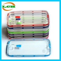 Supper slim led call flash clear cell phone case for Sumsung Galaxy S4