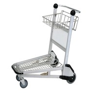 Reasonable price finely processed portable luggage cart for sale JS-TAT series, used baggage cart airport