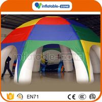 Professional hottest outdoor activity inflatable tent super quality white inflatable tent