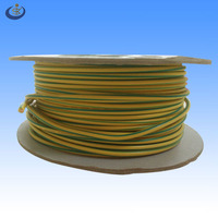 IEC standard RV bare copper conductor pvc insulation material 2.5mm2 green yellow grounding wire