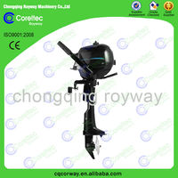 Advanced Technology&Finely Processed Water Cooled Long/Short Shaft 1/2cylinders 4stroke 6hp Gasoline Outboard Engine