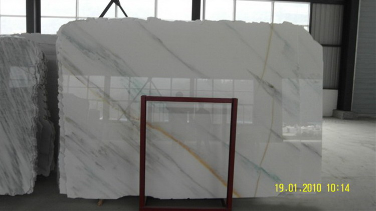 Natural style crazy selling vanilla marble slabs