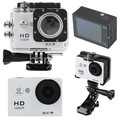 Wifi Full HD 1080P Mini Action Camera 30M Waterproof 12MP Sport Camcorder w/ 2inch LCD