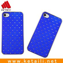 Rubberized phone cases, for crystal iphone case with rhinestones embeded
