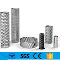 punched hole mesh oval perforated metal mesh
