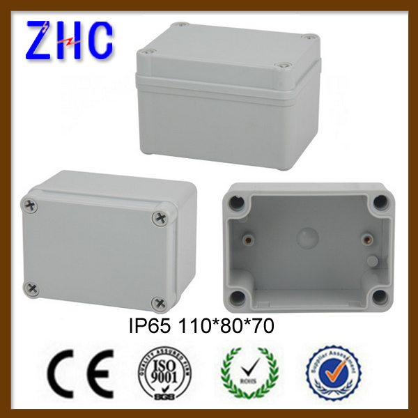 IP65 Waterproof Plastic enclosure for power supply 110*80*70