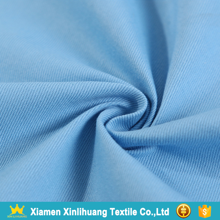 Best Price 21x21 108x58 100% Cotton Twill Fabric for Garment